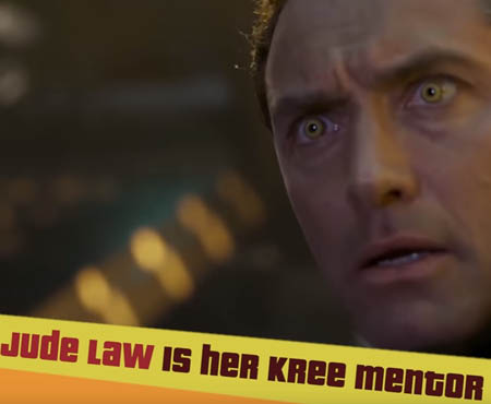jude law in captain marvel movie