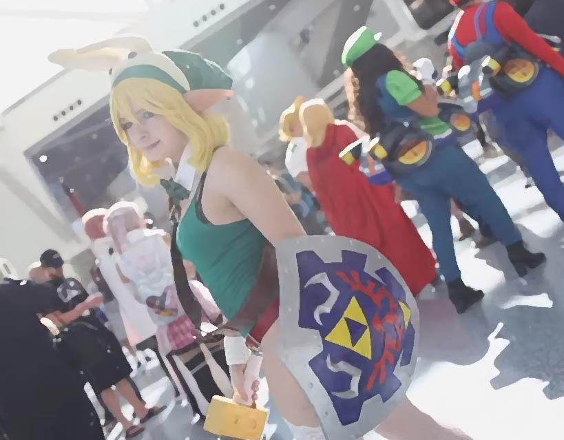 zelda link cosplay
