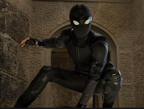 Spiderman Stealth suit