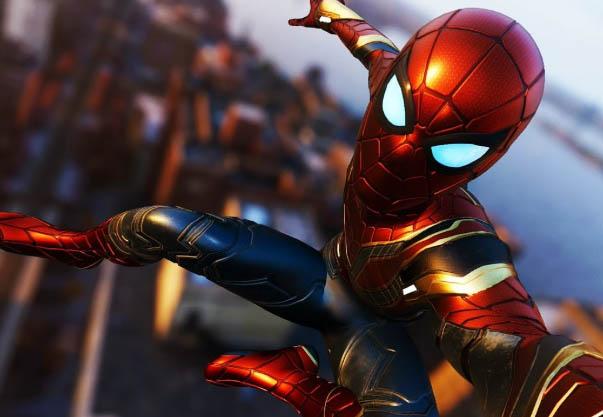 iron spider-man suits