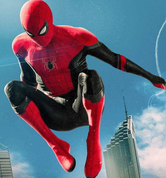 spider-man far from home black and red suits