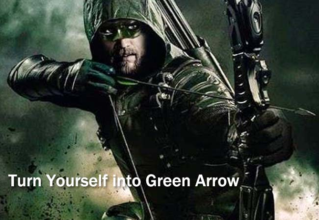 Turn Yourself into Green Arrow