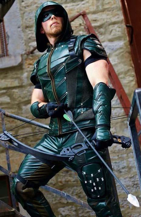 green arrow cosplay