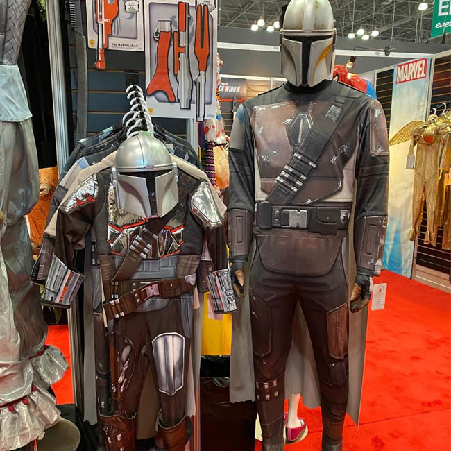 Mandalorian Costumes Simple Edition
