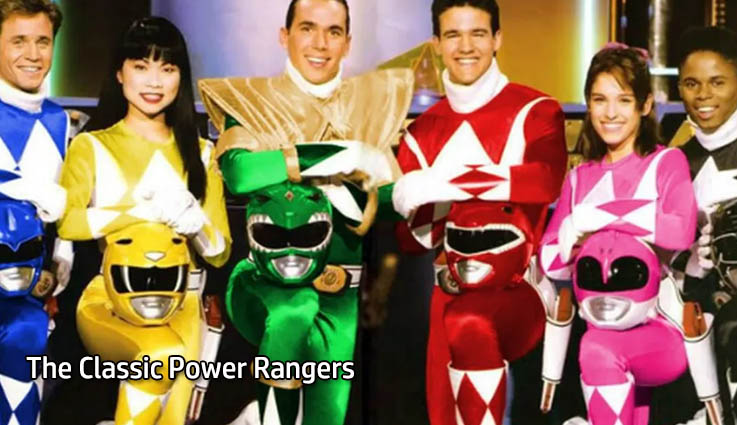 The Classic Power Rangers